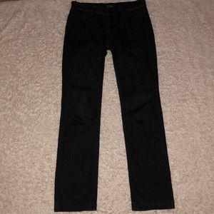 White House Black Market Jeans Noir Size 6 Slim